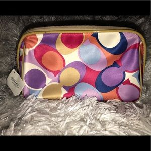 Coach cosmetic bag   NWT